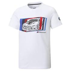 Детская футболка BMW M Motorsport Car Graphic Youth Tee Puma