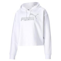 Толстовка Essentials+ Cropped Metallic Womens Hoodie Puma