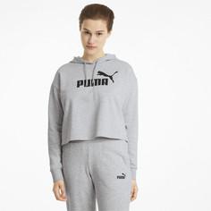 Толстовка Essentials Logo Cropped Womens Hoodie Puma