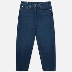 Мужские джинсы Levis Stay Loose Tapered Crop, цвет синий, размер 33