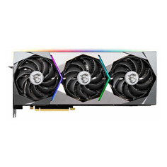 Видеокарта MSI NVIDIA GeForce RTX 3080 , RTX 3080 SUPRIM X 10G LHR, 10ГБ, GDDR6X, LHR, Ret