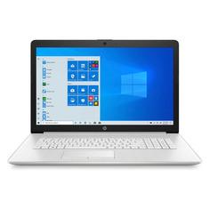 "Ноутбук HP 17-by2052ur, 17.3"", Intel Core i3 10110U 2.1ГГц, 8ГБ, 256ГБ SSD, Intel UHD Graphics , DVD-RW, Windows 10, 2F1Z0EA, серебристый"