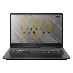 "Ноутбук ASUS TUF Gaming FX706HE-HX018, 17.3"", IPS, Intel Core i7 11800H 2.3ГГц, 16ГБ, 512ГБ SSD, NVIDIA GeForce RTX 3050 Ti для ноутбуков - 4096 Мб, noOS, 90NR0713-M00890, серый"