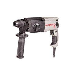 Перфоратор Интерскол П-24/700ЭР SDS-Max, 0-6200 ударов/мин, 0-1300 об/мин, 0.72 кВт