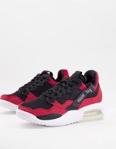 Красно-черные кроссовки Jordan MA2-Красный
