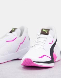 Кроссовки белого/черного/розового цвета Puma Provoke XT-Белый