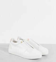 Белые кроссовки для широкой стопы Miss KG-Белый