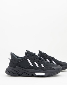 Черные кроссовки adidas Originals Ozweego-Черный цвет
