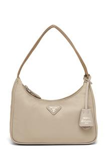 Бежевая сумка Re-Edition 2000 Prada