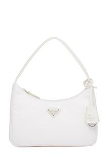 Белая сумка Re-Edition 2000 Prada