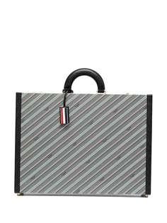 Thom Browne портфель с логотипом