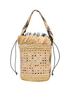 Erdem плетеная сумка-ведро