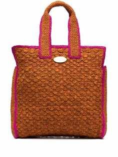Gas Bijoux плетеная сумка-тоут Cabas