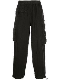 Stussy прямые брюки Utility с карманами