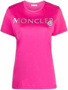 Moncler футболка с логотипом