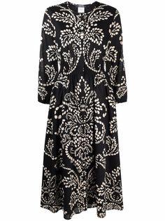 S Max Mara платье миди с принтом пейсли