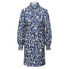 Шелковое платье Lanvin