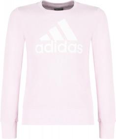 Свитшот для девочек adidas Essentials Big Logo, размер 152