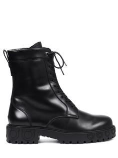Ботинки кожаные S.Ferragamo
