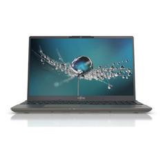 """Ноутбук FUJITSU LifeBook U7511, 15.6"""", IPS, Intel Core i7 1165G7 2.8ГГц, 16ГБ, 256ГБ SSD, Intel Iris Xe graphics , noOS, LKN:U7511M0007RU, черный"""