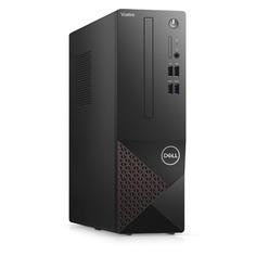 Компьютер Dell Vostro 3681, Intel Core i3 10100, DDR4 8ГБ, 1000ГБ, 256ГБ(SSD), Intel UHD Graphics 630, Linux, черный [3681-3265]