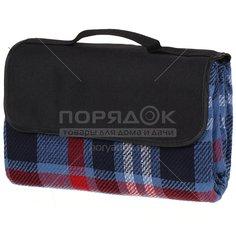 Коврик-сумка пляжный CA3307-AF716.13 сине-красная, 150х135 см