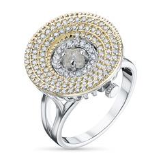 Кольцо из золота с бриллиантами э1045кц04210365 ЭПЛ Якутские Бриллианты