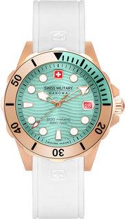 Швейцарские женские часы в коллекции Aqua Женские часы Swiss Military Hanowa 06-6338.09.008