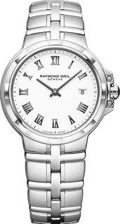 Швейцарские женские часы в коллекции Parsifal Женские часы Raymond Weil 5180-ST-00300