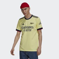 Гостевая игровая футболка Арсенал 21/22 adidas Performance