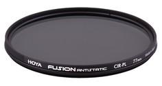 Светофильтр Hoya PL-CIR FUSION ANTISTATIC 77.0мм (серый)