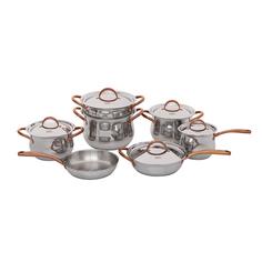Набор посуды из нержавеющей стали Gipfel Absolute 1515