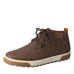 Ботинки Коричневые ботинки дезерты из экокожи Rieker