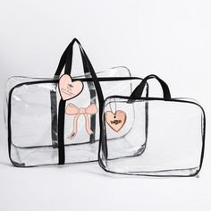 Набор сумка в роддом и косметичка Mum&Baby