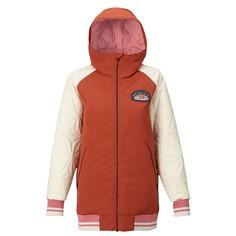 Куртка для сноуборда Burton 17-18 Wb Mossey Maze JK Bitter/Canvas-XXS