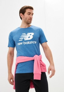 Футболка New Balance Essentials Stacked Logo Tee