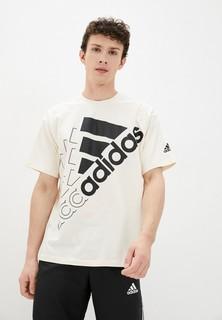 Футболка adidas U Q3 BLUV BL T