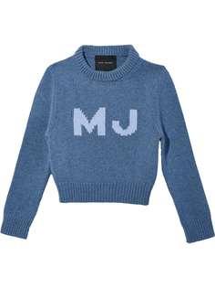 Marc Jacobs джемпер с вышитым логотипом