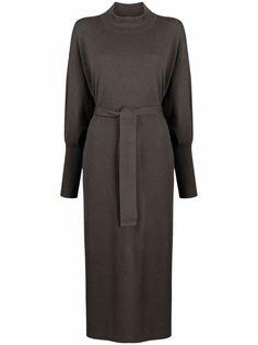 Fabiana Filippi длинное платье-джемпер