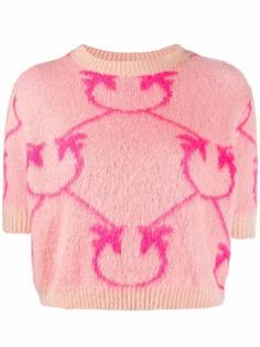 Pinko футболка вязки интарсия