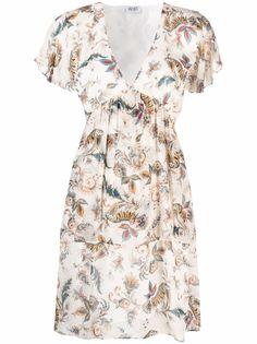 LIU JO платье мини с цветочным принтом