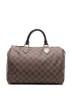 Louis Vuitton дорожная сумка Damier Ebène Speedy 30 2010-го года
