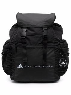 adidas by Stella McCartney рюкзак с логотипом и карманами