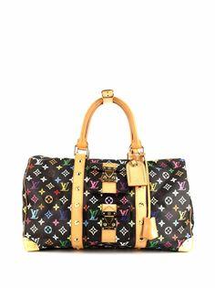 Louis Vuitton дорожная сумка Keepall 45 x Takashi Murakami ограниченной серии 2010-го года