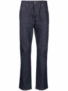 Levis узкие джинсы средней посадки