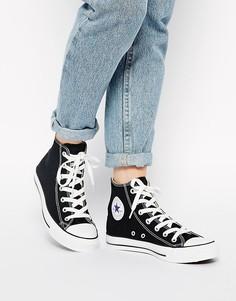 Высокие черные кроссовки Converse Chuck Taylor All Star-Черный
