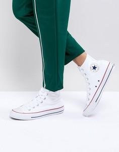 Высокие белые кроссовки Converse All Star-Белый