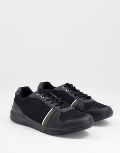 Черные кроссовки для бега на толстой подошве Brave Soul-Черный цвет