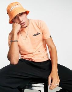 Оранжевая футболка ellesse-Оранжевый цвет