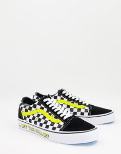 Черные кроссовки Vans X Spongebob Old Skool Off The Wall-Черный цвет